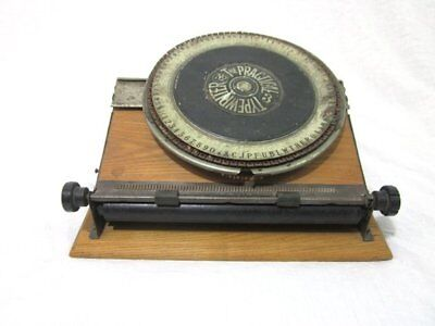 "Rare & Historic ""The Practical No. 3 Typewriter"" - Very Early (C. 1902) Machine!"