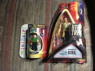 Star Trek Mirror Kirk and Mini Kirk , Two Figures