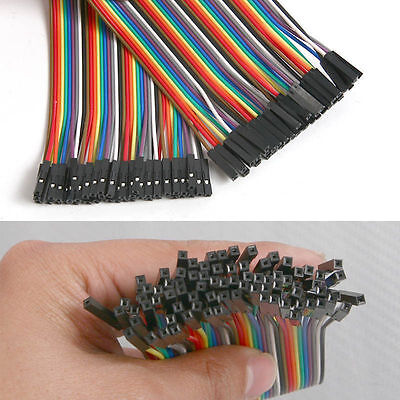 40PCS Jumper Wire Cable 2.54mm 20cm For Arduino Breadboard Sale New BG