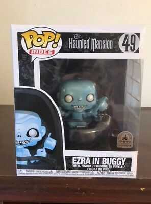 Funko Pop! Ezra In Buggy Disney Parks Exclusive The Haunted Mansion #49