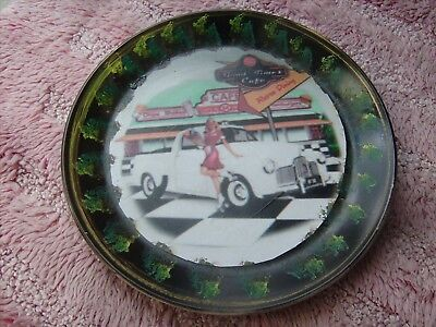 Holden    Fx  Ute      On A Decoupage  Plate
