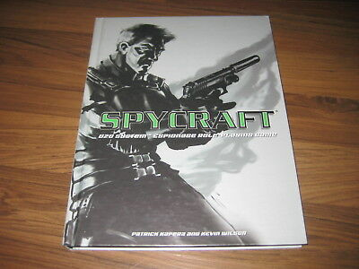 d20 Spycraft 1st Edition Core Rulebook Hardcover AEG 1800