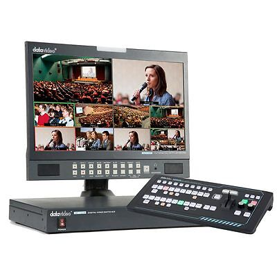 Datavideo SE-1200MU Vision Mixer with RMC-260 Remote Control