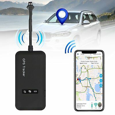 Mini Real Time Car Vehicle GPRS GPS Tracker Charger Locator Finder SPY Tracking