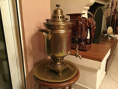 Antique Russian Samovar in MINT condition (for tea/coffee)
