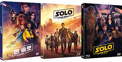 Solo: A Star Wars Story - Blu-ray, 3D, DVD Slip Case Edition (2018) / Pick one!