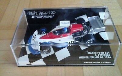 March Ford 761 #10 Peterson,  Sieger Italien 76, Minichamps, 1:43,  Neu & OVP