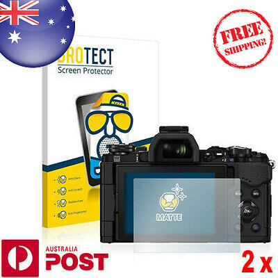 2x BROTECT® Matte Screen Protector for Olympus OM-D E-M5 Mark II - P102C