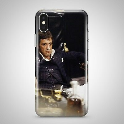 TONY MONTANA SCARFACE cocaine CASE COVER FOR IPHONE SAMSUNG HTC HUAWEI LG phones