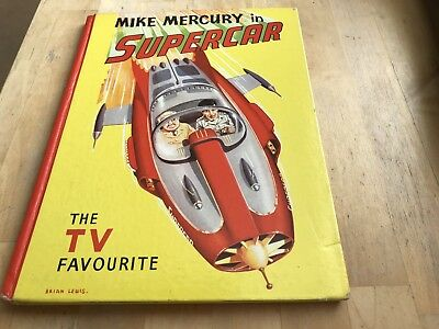 Vintage Gerry Anderson Supercar Book 1961 V.g. Condition