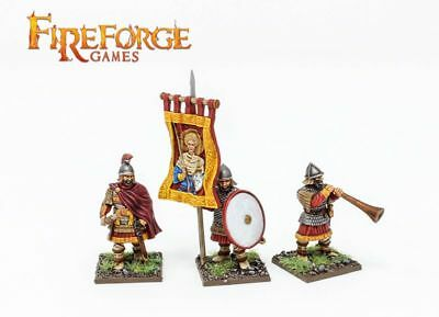 Byzantine Infantry Command Fireforge Games Medieval Middle Ages Leader Banner