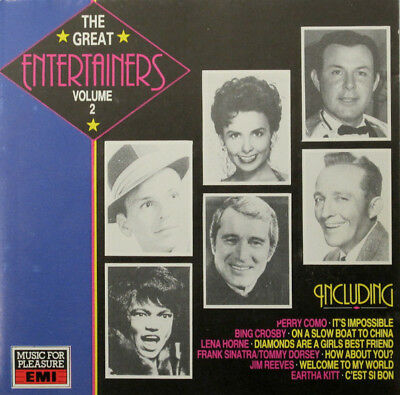 Various - The Great Entertainers Volume 2 (CD)