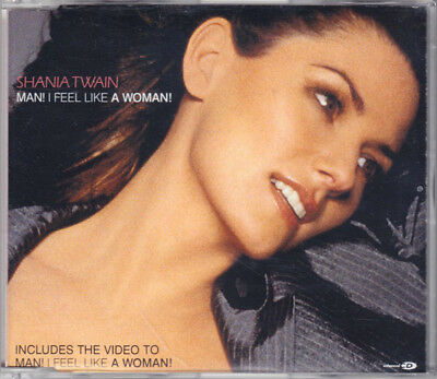 Shania Twain - Man! I Feel Like A Woman! (CD)