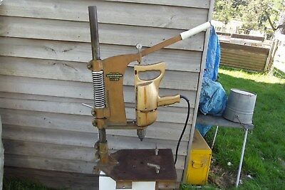 1960's ''lightburn 1/2'' Drill & Press All Complete & Working