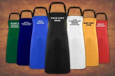 Personalised Custom Printed Baking Cooking Chef Business Christmas Apron Gift