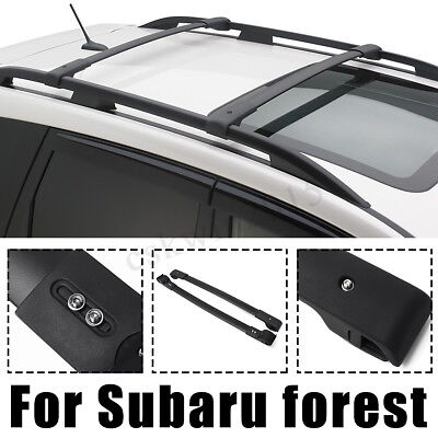2X Car Roof Rack Cross Bars Luggage Carrier Front&Back For Subaru Forester 14-17