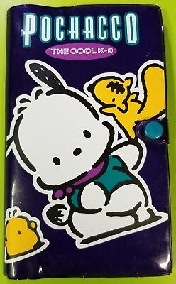 Pochacco The Cool K-9 Sanrio Memo Pad Address Book Cards With Stickers 1997