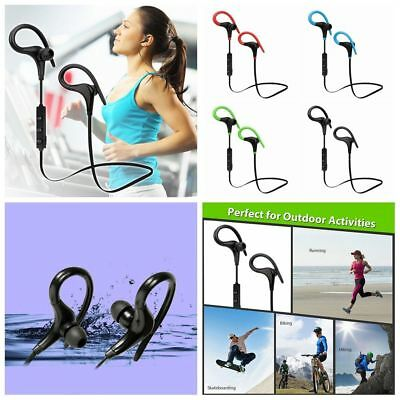 Stereo Sports Headphone Wireless Earphone Bluetooth Headset For Android IPhone