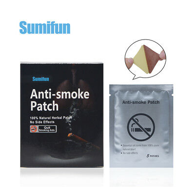 Anti-Smoking Patches 1 Months Supply Quit Smoke Cigarette Pack of 35