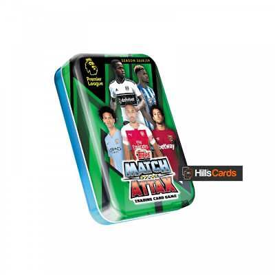 Match Attax 2018/19 Collectors Mini Tin -Topps EPL Premier League Football Cards