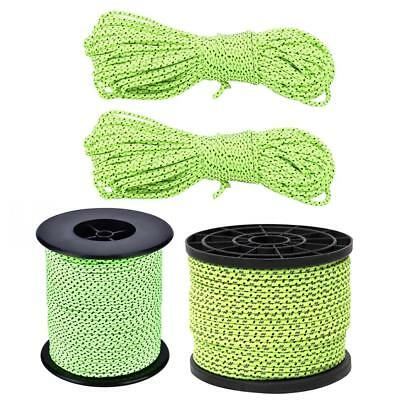 20m/50m Reflective Guyline Outdoor Camping Tent Rope Runners Guy Line Paracord