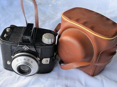 AGFA CLACK Camera with Case - in very good condition