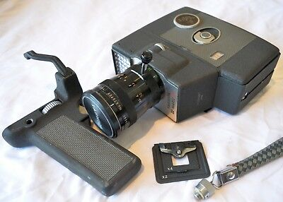 YASHICA U-matic S 8mm movie camera - looks good but sold AS IS