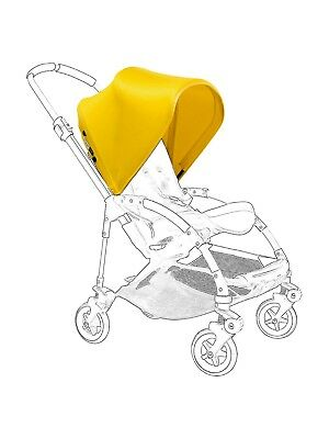 NEW Bugaboo Bee3 Bee+ Bee5 Bright Sunny Yellow Extendable Sun Canopy Hood Fabric