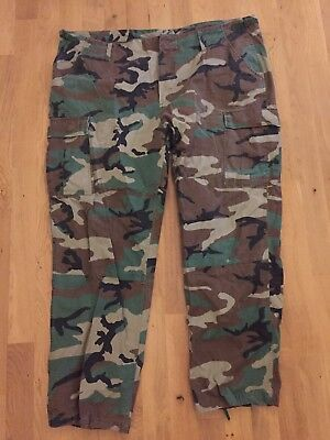 US BDU Woodland Hose XXX-Large - Regular Combat Uniform Outdoor Tarnhose