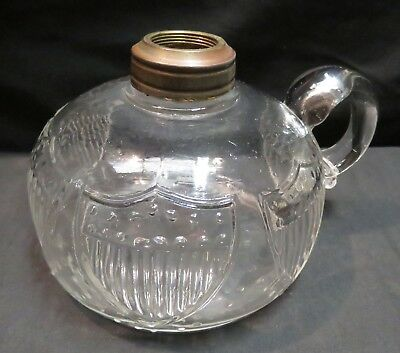 Vintage 1876 Centennial Collection Shield Hand Lamp w/Loop Handle