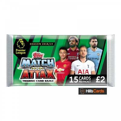 Match Attax 2018/19 Deluxe Pack 15 Cards - Topps EPL Premier League Cards Packet