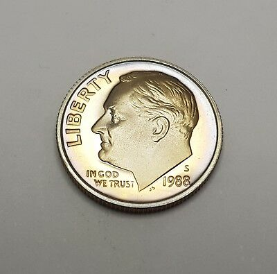 Dime (10 cent) coin | USA 1988(s) | L1584