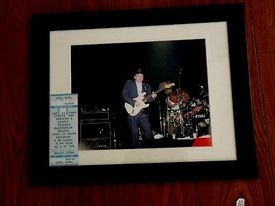 Fender Guitar Legends Series MST EXCLUSIVE Framed 11x17 Print Eric Clapton