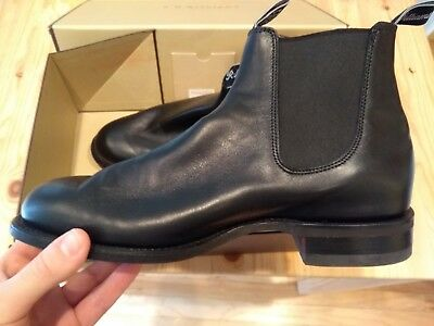 WORN TWICE RM Williams Black Comfort Turnout Boots with