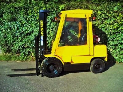 FANTUZZI SF30 DIESEL 3 ton Side Loader Forklift Truck in