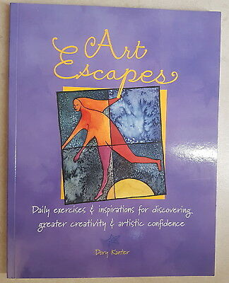 'Art Escapes' by Dory Kanter (creativity & inspiration) - BRAND NEW
