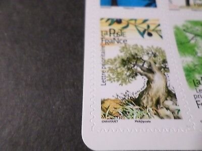 FRANCE, 2018, timbre AUTOADHESIF LES ARBRES, OLIVIER OLEA, neuf** MNH