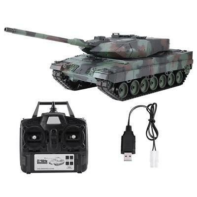 Heng Long 3889-1 1/16 Scale 2.4G Remote Control Leopard 2 A6 Heavy-duty RC Tank