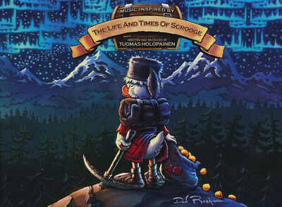 Tuomas Holopainen – The Life And Times Of Scrooge 2CD NEW/SEALED Mediabook
