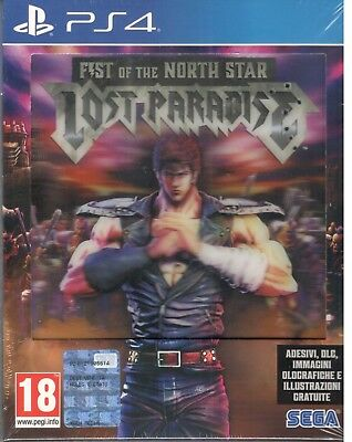 Playstation 4 Fist Of The North Star Lost Paradise Ps4 5055277034208
