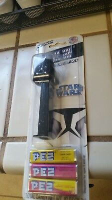 2008 Star Wars Darth Vadar Pez dispenser new with candy