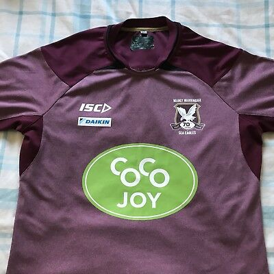 Player Issue Rugby Manly Sea Eagles Training/Gym T-Shirt NRL