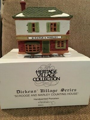 Department 56 Dickens' Village Series - Scrooge and Marley Counting House