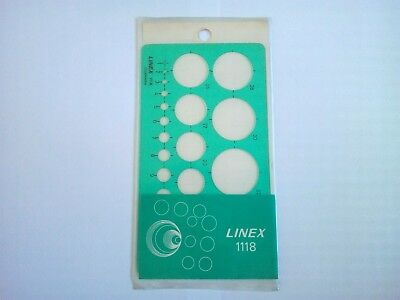 Linex 1118 : Trace Cercles | Circle Template