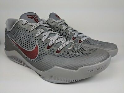 d99cc34fc67 ... cheapest nike kobe xi 11 low lower merion cool grey team red wolf  836183 006 f354f