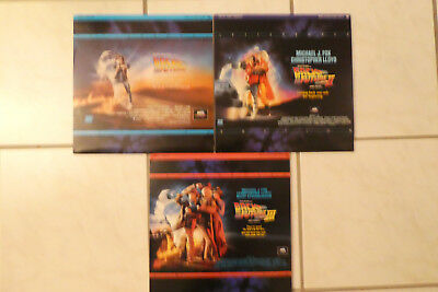 Back To The Future Triologie Laserdisc englische Sprache Letterboxed Edition