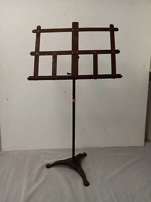 Antique Wrought Iron Music Stand (A)