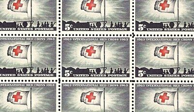 INTERNATIONAL RED CROSS (1963) - Mint -MNH- Sheet of 50 Postage Stamps - #1239