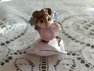 Wee Forest Folk M-148 Tooth Fairy in PINK, Retired/Mint/Box