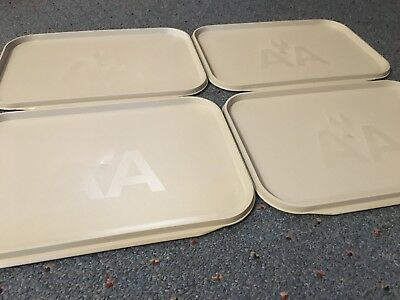 American Airlines vintage trays x4!
